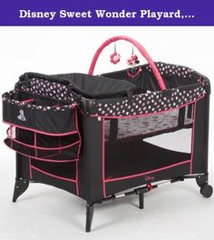 Disney Sweet Wonder Playard, Minnie Mash Up. The perfect mini nursery, either at home or on the go, the Disney Sweet Wonder Playard gives parents everything they need to keep baby happy. The newborn bassinet gives your resting baby a cozy place to nap and features open-view breathable mesh so you have a good view from anywhere in the room. The changer is wipeable and includes a deluxe organizer to keep baby's necessities easily within reach. There are two wheels, for room to room…