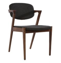 Replica Kai Kristiansen 'Kai' Dining Chair - Fabric by Kai Kristiansen. Got to love these! our dinning chairs