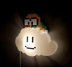Super Mario Lakitu Night Light #shutupandtakemyyen #supermario #supermariobros #mario #merch #merchandise #supermariomerch #supermariomerchandise #nintendomerch #nintendomerchandise #lakitu #nintendo