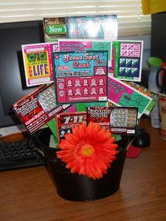 This would be a great gift for anyone in my family, especially the ones who gamble.  Alot of hoping, alot of fun scratching to see if they hit the big one.  And hopefully worth more in the end that what the cost of purchasing the scratch offs that you paid to set this gift up. #xmas_present