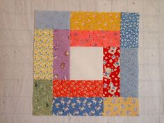 52 Quilts in 52 Weeks: Sunday Scrap Basket: Ring Around the Rosie