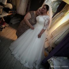 Wholesale sexy wedding dresses, wedding gown and mermaid wedding dresses on DHgate.com are fashion and cheap. The well-made vintage long sleeve lace plus size wedding dress 2016 weeding turkey weding bridal bride wedding gowns robe de mariage mariee sold by smith66 is waiting for your attention.