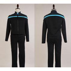 Star Trek Online Odyssey Science Uniform Cosplay Costume from Star Trek.