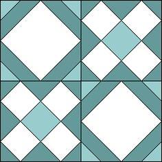WEDDING QUILT - Antique Geometric Quilt Designs