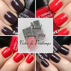 #Chanel Charivari & Tapage Le Vernis for #Spring2014 #nails via @All Lacquered Up