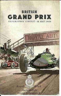 SILVERSTONE_BRITISH GRAND PRIX_MAY 1949_2ND