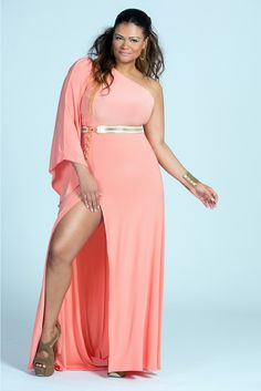 10 Plus Size Spring Maxi Dresses You'll Love via TheCurvyFashionista.com #TCFStyle Affection Maxi Dress