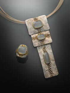 Regina Imbsweiler Jewelry - reticulation and granulation