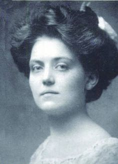 Violet Jessop, ocean liner stewardess and survivor of both the sinking of the RMS Titanic, and the HMHS Brittanic.
