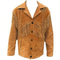 online shopping for Classyak Western Genuine Leather Coat, Fringed & Excellent Bead Work, from top store. See new offer for Classyak Western Genuine Leather Coat, Fringed & Excellent Bead Work, Suede Leather Jacket, Leather Jackets, Cowhide Leather, Mens Tan Jacket, Studded Jacket, Beaded Jacket, Men's Coats And Jackets, Western Wear, Western Cowboy