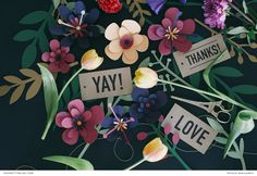 Perfectly Printable Paper Blooms! - The Pretty Blog
