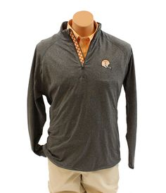 VT Football Logo 1/4 Zip – Ty Alexander's The volunteer traditions VT Football 1/4 Zip will soon become your favorite go-to pullover. It is lightweight and super comfortable.This 1/4 Zip is great paired with the TZ0110 Orange and white button-down gingham. Get ready for the football season!