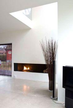 Single family house / Interior   Dark Arkitekter / Residential / Høvik, Norway Single Family, Norway, Flat Screen, Dark, Interior, Projects, House, Home Decor, Blood Plasma