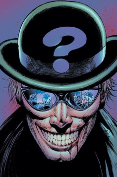 The Riddler by Tony Daniel