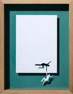 Love it, absolutley love it A4 Paper Art by Peter Callesen [DIY] - PickChur