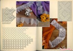 """Photo from album """"кайма on Yandex. Filet Crochet, Crochet Borders, Crochet Diagram, Crochet Stitches, Crochet Patterns, Create Picture, Making 10, Lace Border, Crochet Home"""
