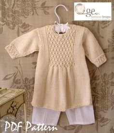 Love this cute little sweater dress. Maybe I'll have to make one for my little girl next winter.
