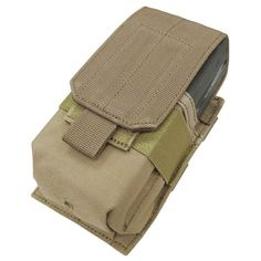 Single M-14 Mag Pouch Color- Tan