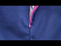 Here's a sewing tutorial that you'll want to keep within reach. In this video tutorial learn on how to sew an invisible zipper with a lining. Sewing Lessons, Sewing Class, Sewing Basics, Sewing For Beginners, Sewing Hacks, Sewing Tutorials, Sewing Projects, Sewing Patterns, Techniques Couture