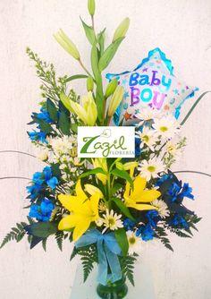 Arreglos para nacimientos de Bebes.  Florería en Cancún entrega a domicilio arreglos para nacimientos de bebes y arreglos para toda ocasión. www.floreriazazil.com #floreriasencancun #floreriazazil