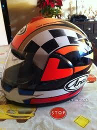 Mi 1er casco Arai
