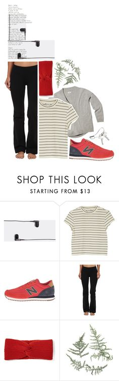 """Run the World in New Balance"" by ellare88 ❤ liked on Polyvore featuring KEF, Monki, New Balance Classics, New Balance, rag & bone, Georg Jensen, Winter, sporty, active and NewBalance"