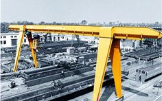 A-type Gantry Crane is A-type double girder gantry crane ; consists of A-type gantry frame steel structure, trolley, crane traveling mechanism, electrical system and other main components. Outdoor operation gantry crane also equipped with r Boat Hoist, Gantry Crane, Marketing Consultant, Electric, Building, Buildings, Construction