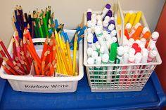 kinderdi: Classroom organization