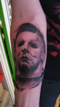 Michael myers michael o 39 keefe and tattoos and body art on for Michael myers tattoo