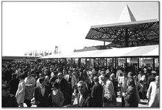 Crowds at Expo 67 on opening day, April 28, 1967 (67118-18)