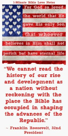 Presidential quotes about the Bible. click image and when it enlarges, click again to read these quotes.