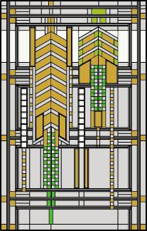 Frank Lloyd Wright inspired designs and patterns for building stained glass windows and lamps and cross-stitching Art Deco Design, Glass Design, Wisconsin, Frank Lloyd Wright Buildings, Springfield Illinois, Usonian, Art Nouveau Architecture, Stained Glass Patterns, Stained Glass Windows