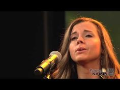 Sierra Hull and Justin Moses at Summer NAMM 2013 - @bluegrassgirl89 @Chaising Skies y'all gotta hear this! They're amazing!!!