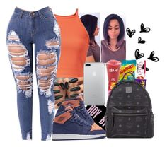 """""""Summer Vibe"""" by elevenflavahz ❤ liked on Polyvore featuring NIKE and MCM"""