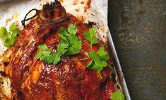 Yotam Ottolenghi's tandoori chicken - with a marinade recipe. And grilled tandoori prawns and pineapple salad, and tandoori cauliflower wedges Tandoori Recipes, Curry Recipes, Soup Recipes, Chicken Recipes, Cooking Recipes, Tandoori Paste Recipe, Easy Cooking, Cooking Ideas, Cooking Time