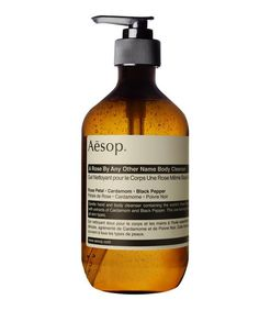 Fragrant and softening, this Aesop A Rose by Any Other Name body cleanser cleans skin without drying out hands.