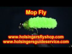 Mop Fly, Begginers Series Episode 23, Holsinger's Fly Shop - YouTube