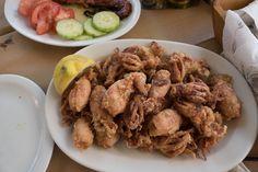 Had the best #calamari in #Kefalonia, #Greece