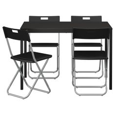 TÄRENDÖ/GUNDE Table and 4 chairs - IKEA $70.96