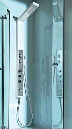 Hidromassagem vertical: coluna de banho sem quebra-quebra ‹ Chria Arquitetura e Interiores Belo Horizonte Projetos
