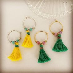 Those are awesome tassel ear rings.