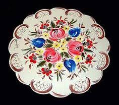 bauernmalerei video - Pesquisa Google German Folk, Shabby Chic, Painting, Cute Art, Folk Art, Decoupage, Decorative Plates, Projects To Try, Pattern