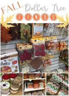 Dollar Tree Fall Finds - Re-Fabbed The Dollar Tree has the cutest fall items this year for your DIY projects and home decor needs! For only one dollar, you cannot go wrong! Dollar Tree Fall, Dollar Tree Finds, Dollar Tree Crafts, Wood Pumpkins, Fall Diy, Mason Jar Crafts, Autumn Trees, Fall Crafts, Diy Crafts