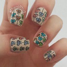 Instagram photo by thenailbug  #nail #nails #nailart