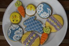 Some of my Easter cookies!  Inspired by many of YOU!
