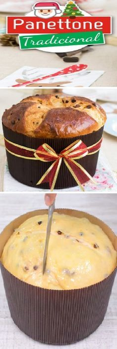 Traditional Panettone, Easter Bread or Sweet Bread Christmas Recipes By Quiero Cu … Bien Tasty, Sweet Recipes, Cake Recipes, Sweet Dough, Italian Desserts, Special Recipes, Sweet Bread, Christmas Baking, Donuts