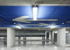 On Diseño - Projects: Signage of the car park of the Municipal Market of Inca (Mallorca)