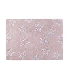 Stars Pink - White Silhouette