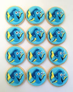 Dory cookies - Finding Nemo, Finding Dory | by sagodlove