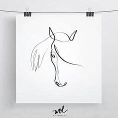 Equestrian Gift  Horse Gift Ideas  Horse Portrait  Equine